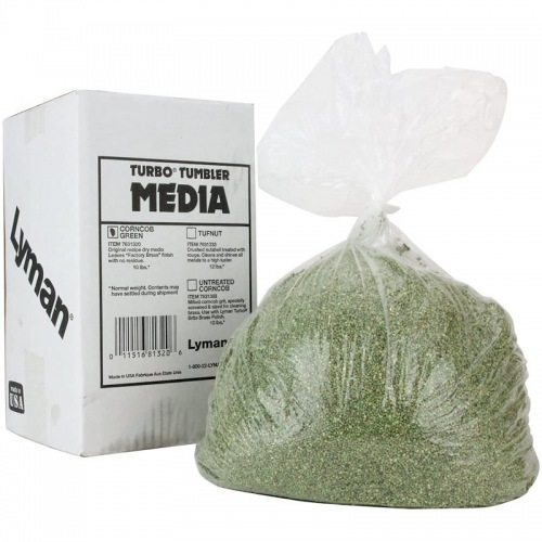Lyman graniglia 6 lb corncob plus verde